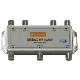 Коммутатор Diseq-C 6x1 WinQuest GD-61A