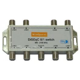Коммутатор Diseq-C 8x1 WinQuest GD-81A